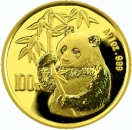 China 1 Oz 1995 Panda Gold orig. eingeschwei�t