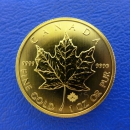 Kanada 1 Oz Maple Leaf Gold div.