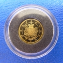 Kleinste Goldm�nze d. Welt Northern Mariana Islands 5$ 2004 San Marino Gold