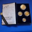 USA Proof Set 1995 Gold 57,535g Feingold