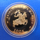 Monaco 100 Euro 2003 Rainer III Gold in PP
