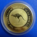 Australien 10 Oz Nugget 1994 Gold