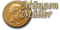 Münzen Müller - Gold, Silber und Münzen-Logo