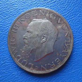 Bayern 5 Mark 1914 D Ludwig Iii Silber Prachtstück Kaufen Bei
