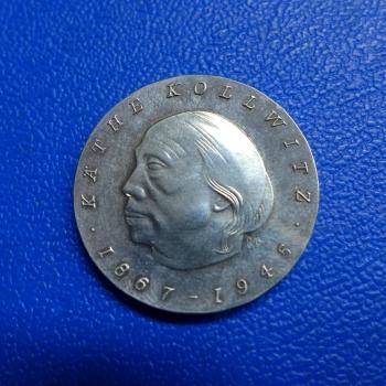 10 Mark 1967 Käthe Kollwitz Fehlprägungkaufen Bei Münzen Müller
