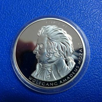 Brd 10 Euro 2006 Wolfgang Amadeus Mozart In Ppkaufen Bei Münzen Müller