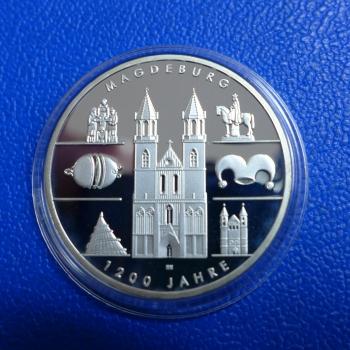 Brd 10 Euro 2005 Magdeburg In Ppkaufen Bei Münzen Müller