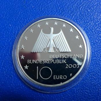 Brd 10 Euro 2003 Ruhrgebiet In Ppkaufen Bei Münzen Müller