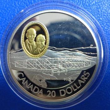 Kanada 20 Dollar 1991 The Aea Silver Dart Silber In Ppkaufen Bei