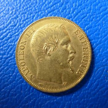 Frankreich 20 Francs Napoleon Iii Gold Divkaufen Bei Münzen Müller