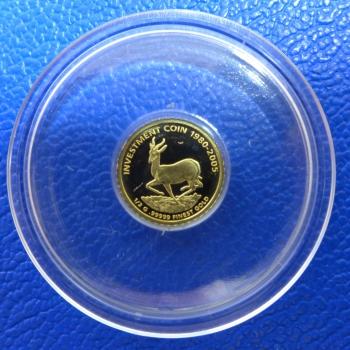 Kleinste Goldmünze D Welt Liberia 10 1980 2005 Krügerrand 05