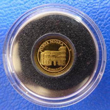 Kleinste Goldmünze D Welt Somali Republik 50 Shillings 2008 Porta
