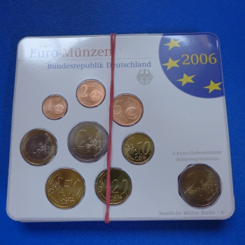 Brd Euro Münzen Kms 2006 Adfgj 2 Euro Gedenkmünze Kmpl In