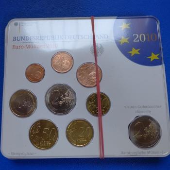 Brd Euro Münzen Kms 2010 Adfgj 2 Euro Gedenkmünze Kmpl In