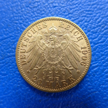 bremen 20 mark 1906 j freie hansestadt in gold prachst ck seltenkaufen bei m nzen m ller. Black Bedroom Furniture Sets. Home Design Ideas