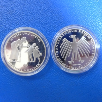 Brd 10 Euro 2014 Hänsel Und Gretel In Ppkaufen Bei Münzen Müller