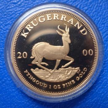 Südafrika Krügerrand Gold In Polierte Plattekaufen Bei Münzen Müller