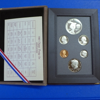 USA KMS 1983 PROOF SET, Prestige Satz in Polierte Platte
