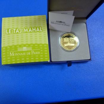 Frankreich 200 Euro Taj Mahal 2010 1 Oz Feingoldkaufen Bei Münzen Müller