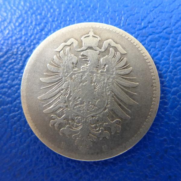 Kaiserreich 1 Mark 1874 B Kleiner Adlerkaufen Bei Münzen Müller